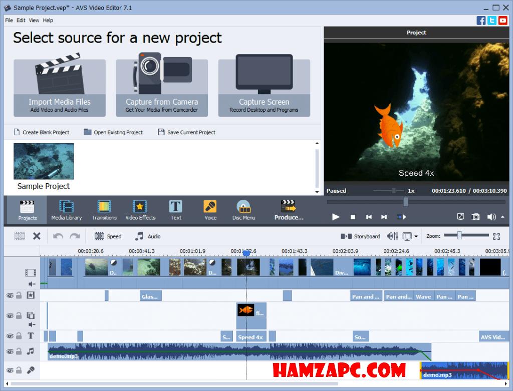 AVS Video Editor 9.0.1.326 Crack Plus Product Keys (Full Version)