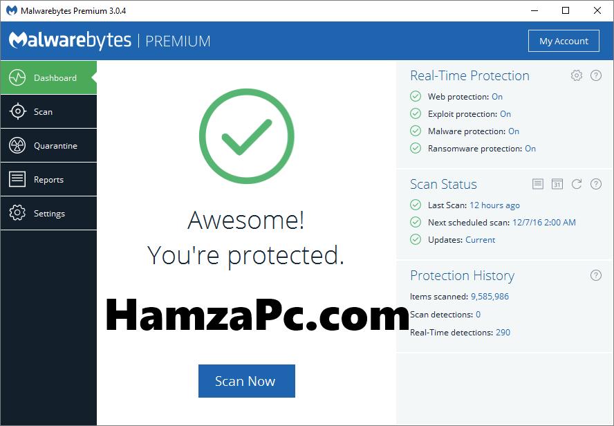 Malwarebytes Anti-Malware 3.8.3 Premium Crack Keys [Total Free]