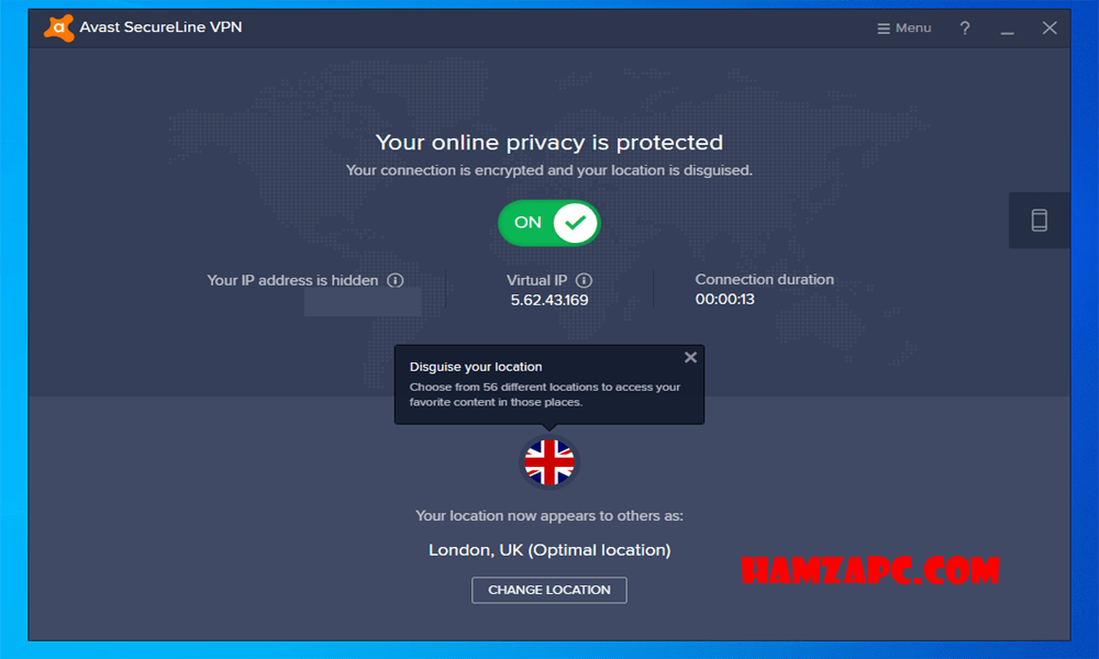 Avast SecureLine VPN 2019 License Key [Activation Code-Till 2021]