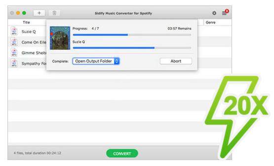 Sidify Music Converter Crack 1.4.1 With Serial Key