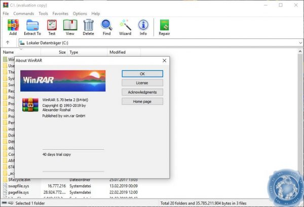 WinRAR 5.80 Beta 3 incl Universal Crack