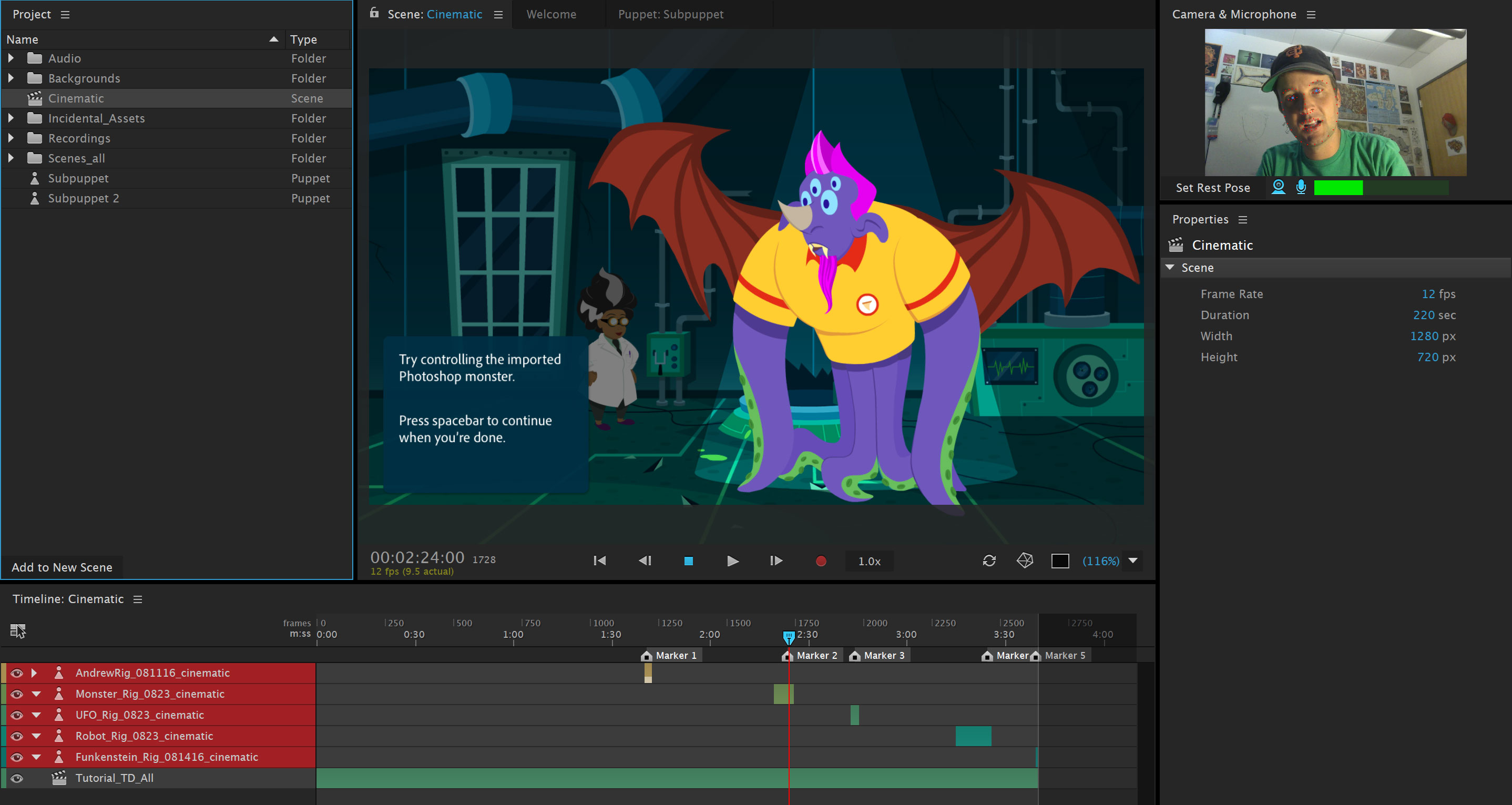 Adobe Character Animator CC 2020 with Crack Full Free Download