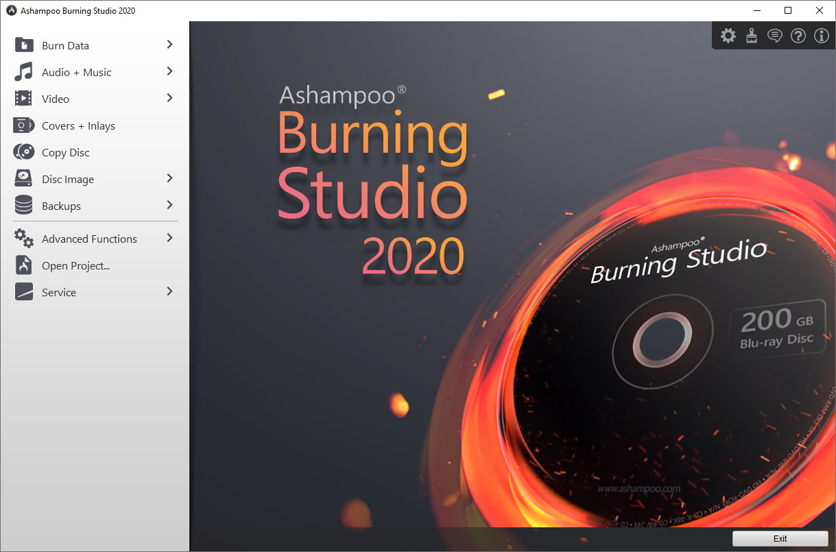 Ashampoo Burning Studio 21.6 Crack 2020 + Full Activation Key